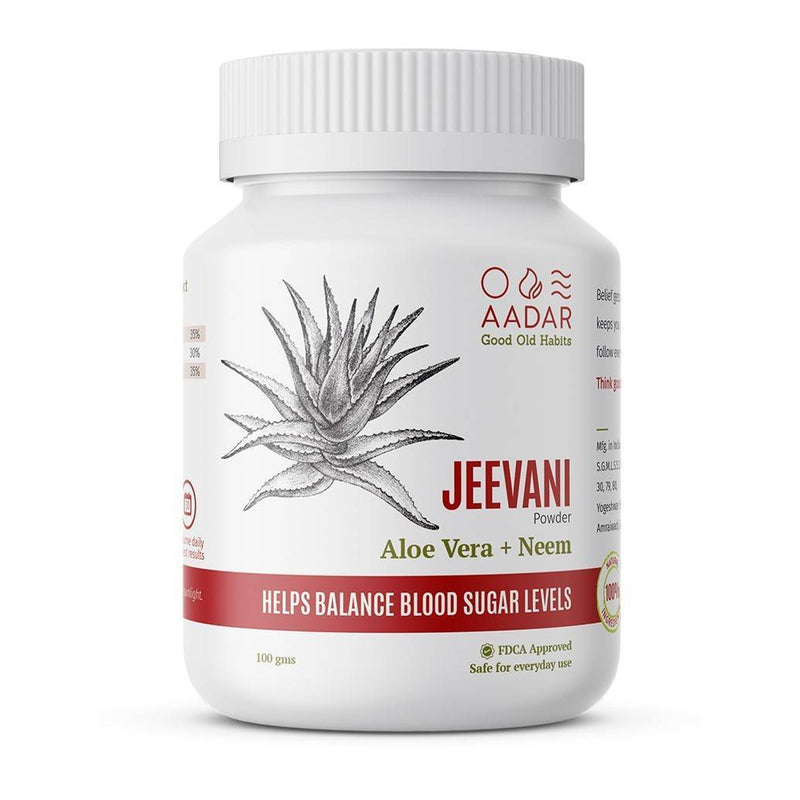 AADAR JEEVANI Powder For Natural Blood Glucose Control and Body Detox - Trell Shop