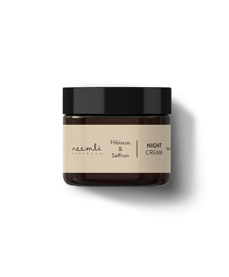 Neemli Naturals Hibiscus & Saffron Night Cream