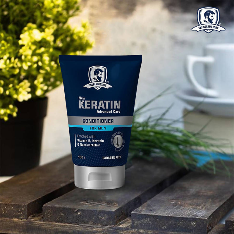 The Beard Story Keratin Advanced Care Conditioner, 100 g