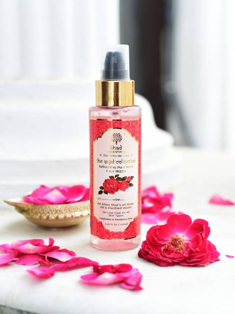 Khadi Essential - The Sajal Collection - Refreshing Pure Rose Face Mizzle