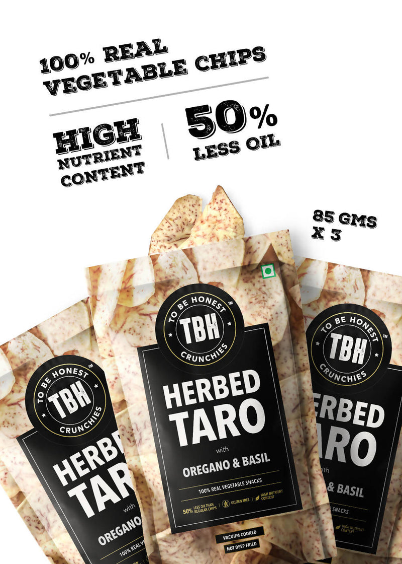 Herbed Taro Chips - Pack of 3