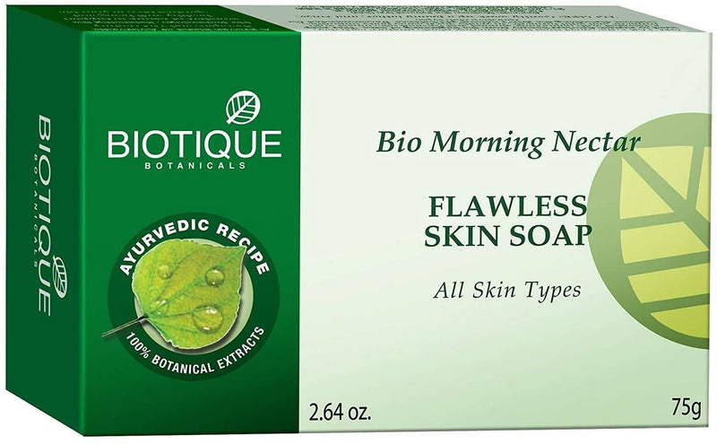 Biotique Bio Morning Nectar Flawless Skin Soap - 75gm (New)