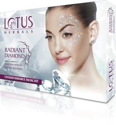 Lotus Radiant Diamond Cellular Radiance 1 Facial Kit Kit