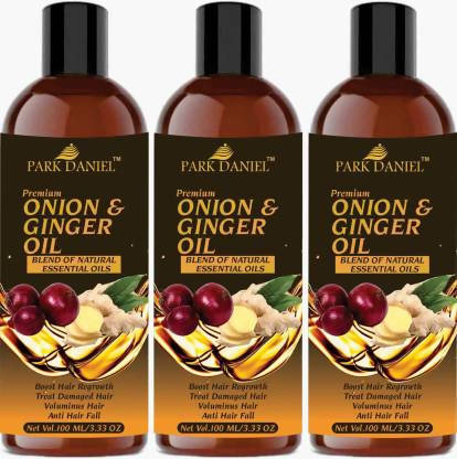 Park Daniel Premium Onion & Ginger oil Hair Oil (300 ml)