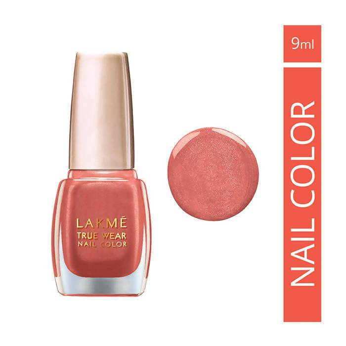 Lakme True Wear Nail Color, Shade 502, 9Ml
