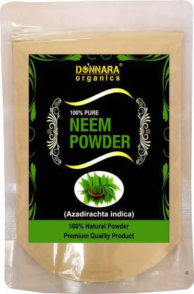 Donnara Organics 100% Pure & Natural Neem Powder (200 g)