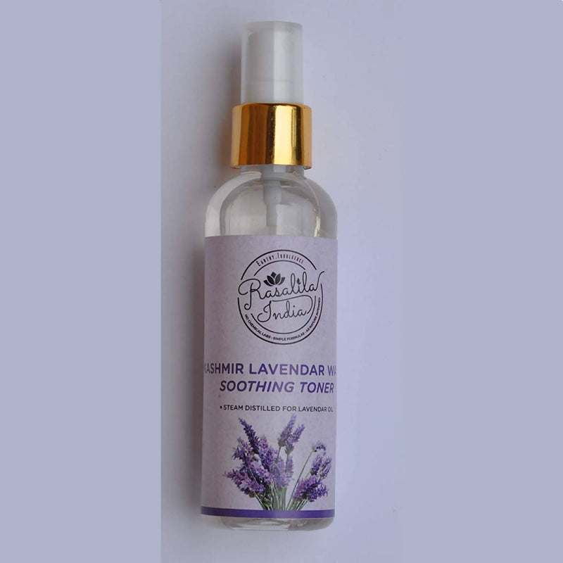Rasalila Alcohol-Free Toner | 100 ml | Hydrating & Soothing Water Astringent | Kashmir Lavender Pack of 2