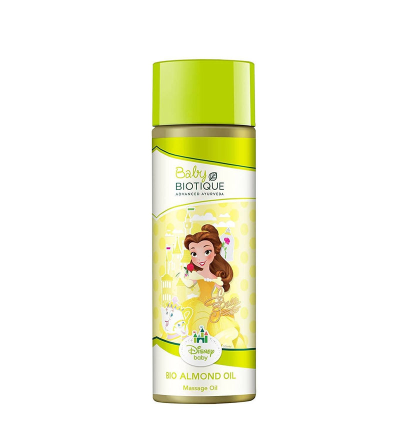 Biotique Bio Almond Oil Baby Mickey Massage Oil, 200ml