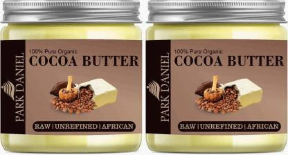 Park Daniel 100% Pure Organic Cocoa Butter 2 Jars of 50 gms(100 gms) (100 ml)