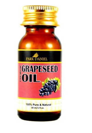 Park Daniel Grapeseed Oil-100 % Pure and Natural(30 ml) Hair Oil (30 ml)