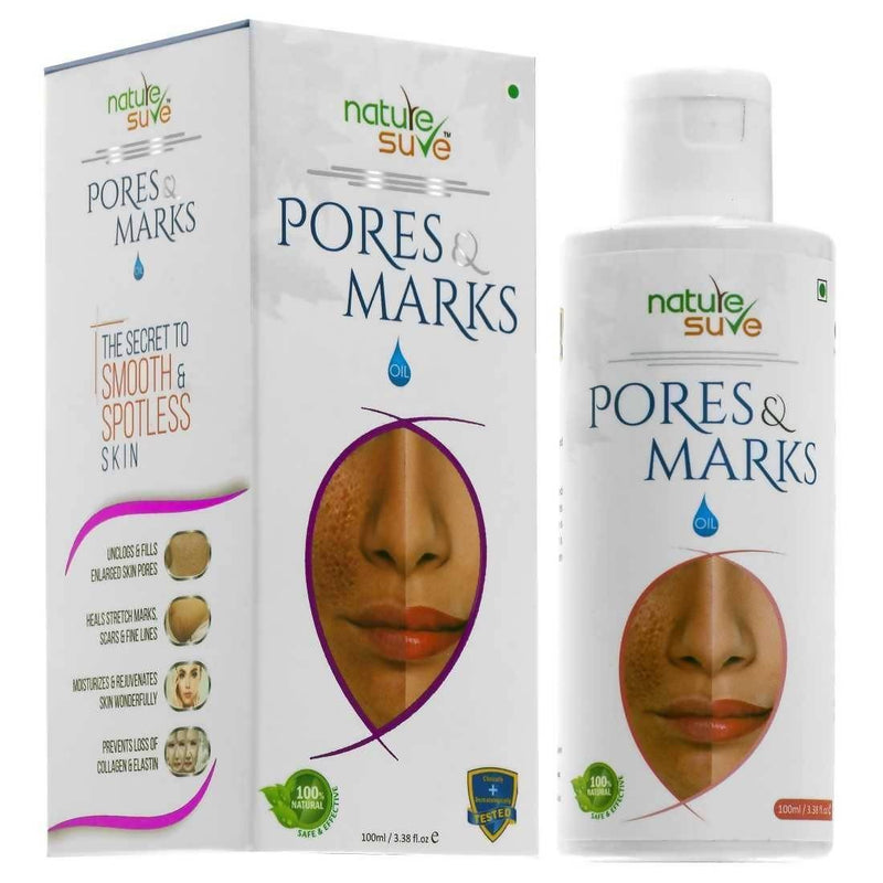 Nature Sure Pores and Marks Oil for Enlarged Pores & Stretch Marks in Men & Women(100ml)