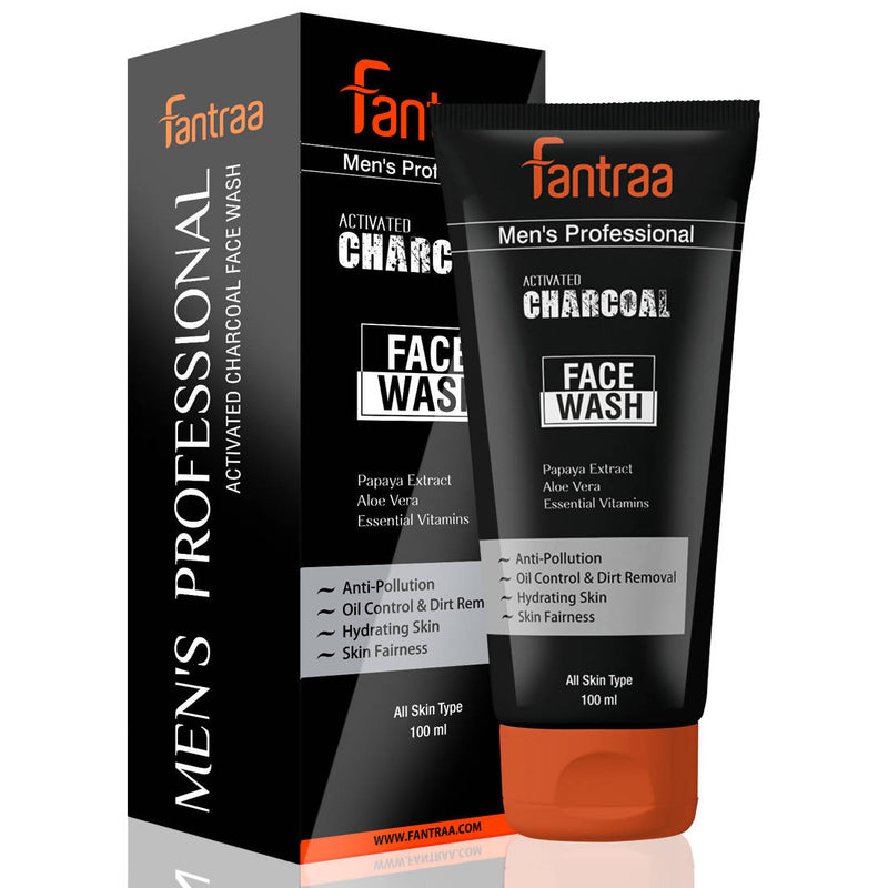 Fantraa Activated Charcoal Face Wash (100 ml)