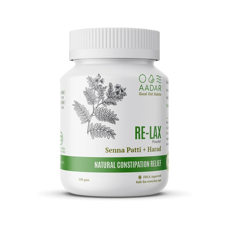 AADAR RELAX Powder For Effective Relief from Constipation, Acidity and Indigestion - Trell Shop