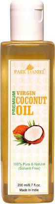 Park Daniel Virgin Coconut Oil- Pure and Natural (200 ml) (200 ml)