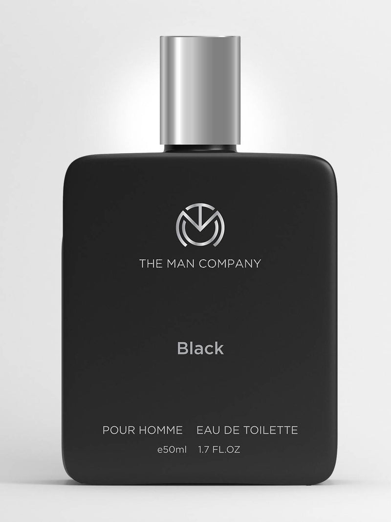 The Man Company Black EDT- 50 ML