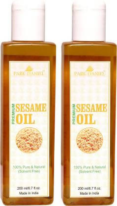 Park Daniel Premium Virgin Sesame Oil Combo of 2 bottles of 200 ml(400 ml) Hair Oil (400 ml)