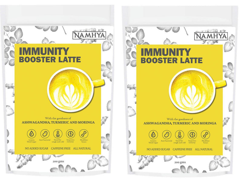 Namya Foods Immunity booster Latte (Pack of 2)