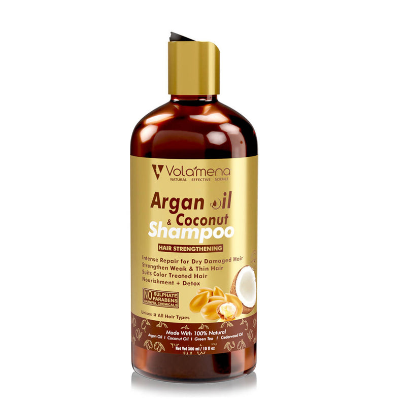 Volamena Argan Oil & Coconut hair Strengthening shampoo 300 ml