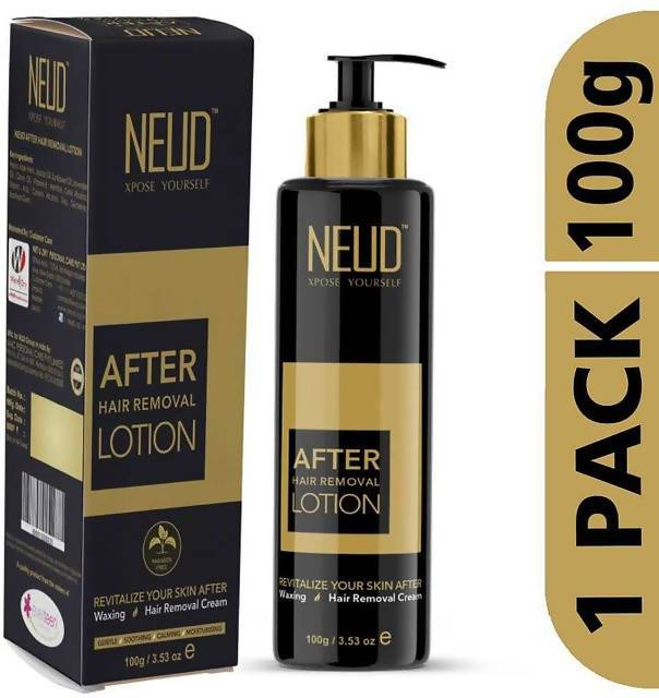 NEUD After Hair Removal Lotion for Skin Care in Men & Women(100gm)