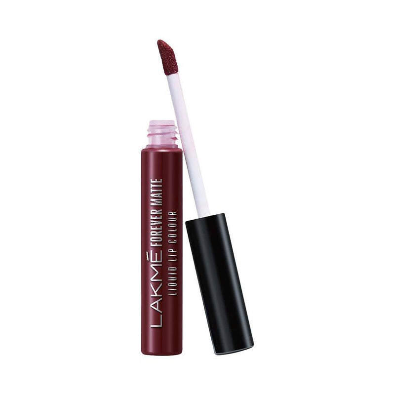 Lakme Forever Matte Liquid Lip Colour, Mauve Ecstasy, 5.6 Ml