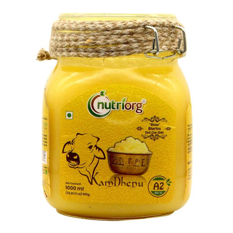 Nutriorg A2 Rich Cow Ghee 1000 ml