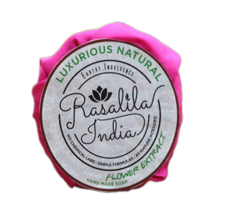 Rasalila Organic Soap | Handmade | For sensitive and Damaged Skin type | 90 grams