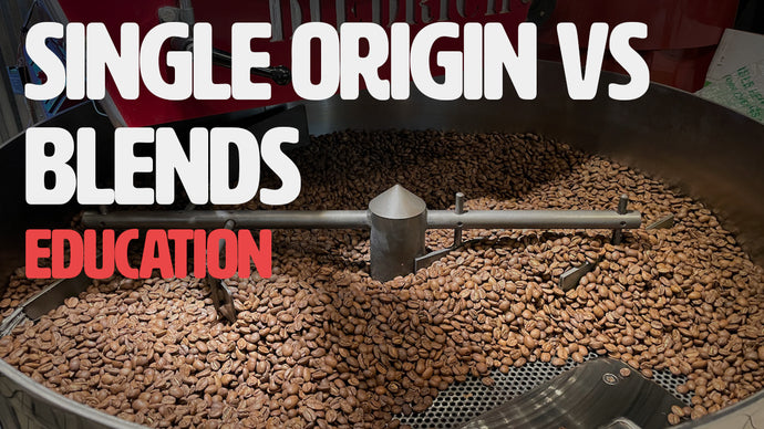 The difference between single origin or blend coffee?