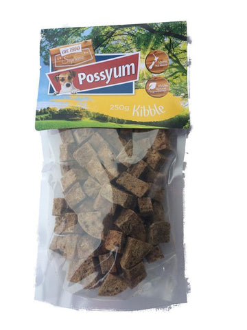 Possyum Kibble Treats 250gm