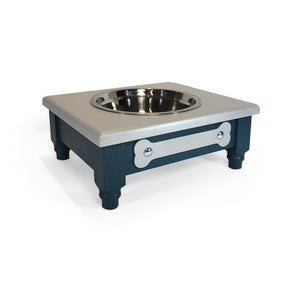 "1 Bowl M (5""H) - Urban Silver Top 