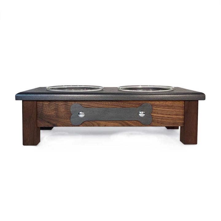 "2 Bowl M (5"" H) - Grey Top 