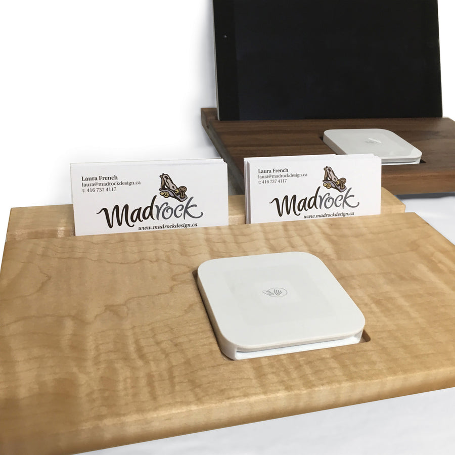Square & Business Card Holder - Large