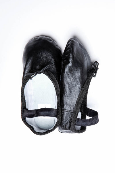 Black Toddler Ballet Shoes