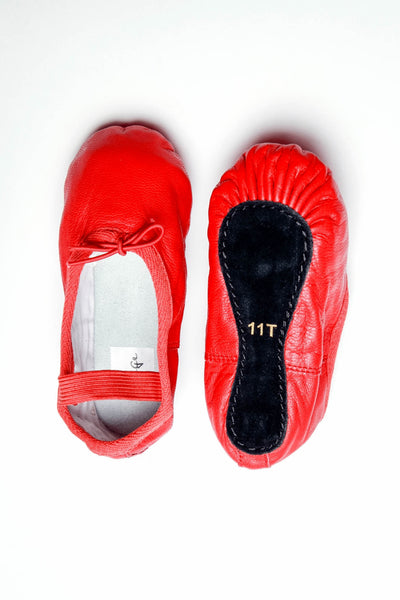 Red Ballet Flats for Toddlers