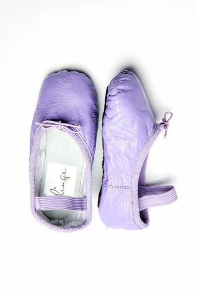 Purple Ballet Flats for Girls