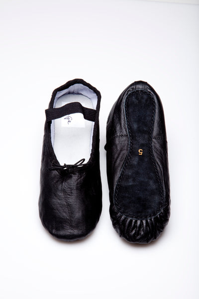 Women's Black Ballet Shoes