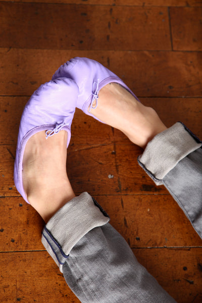 Light Purple Ballet Flats