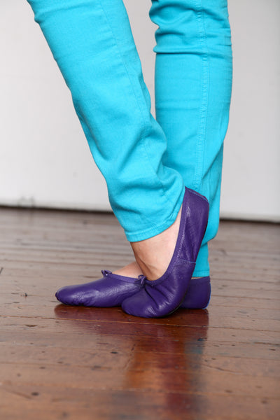 Women's Purple Ballet Flats
