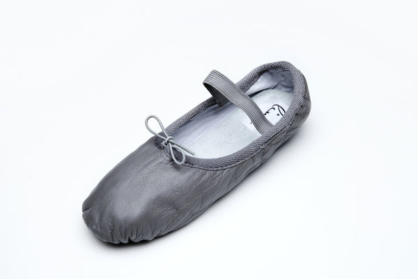 Foldable Silver Ballet Flats