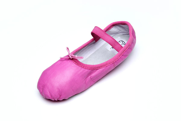 Foldable Pink Ballet Flats