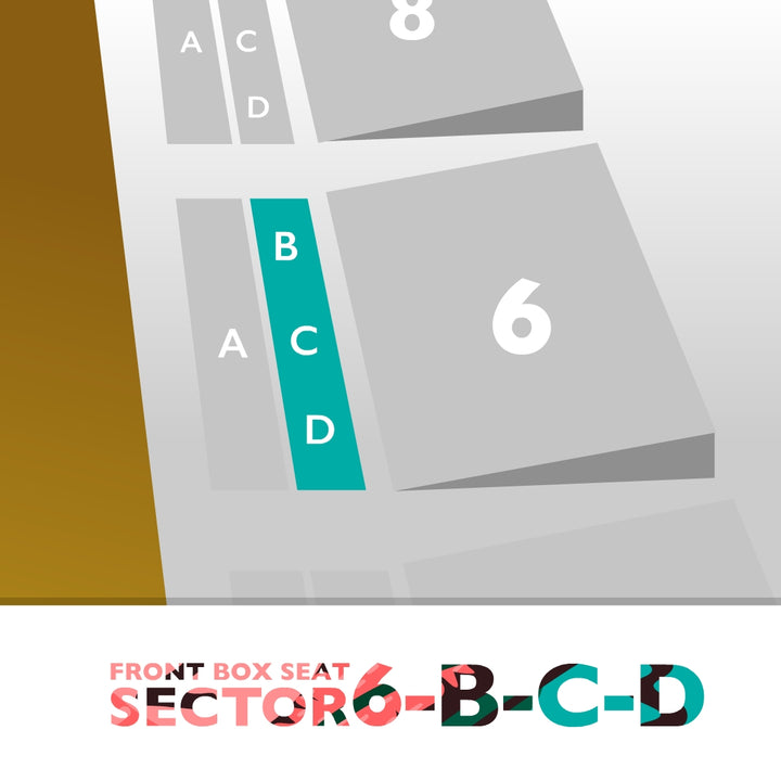 Palco Sector 6-B-C-D