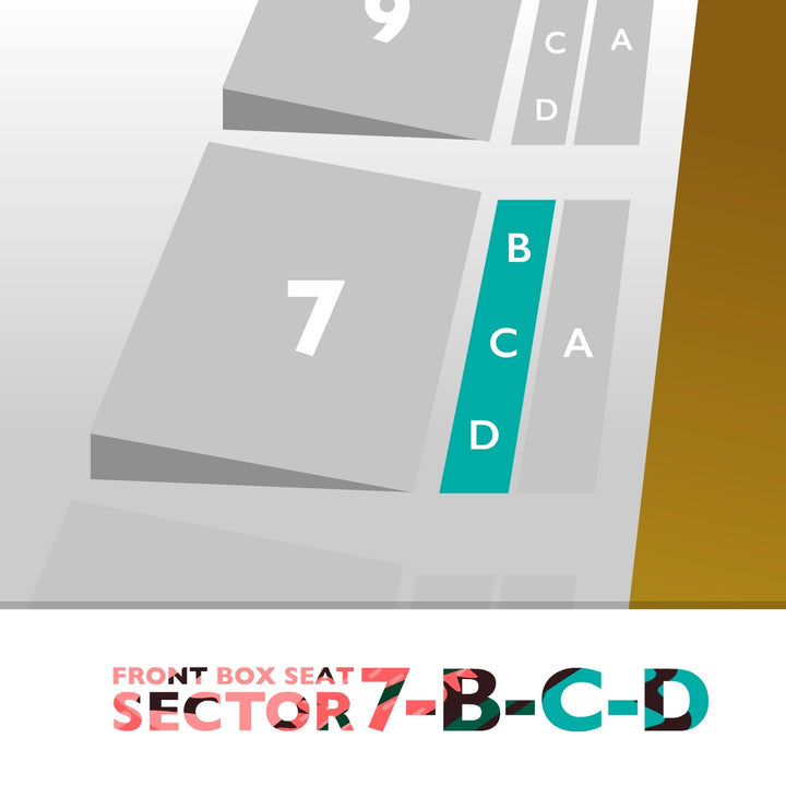 Palco Sector 7-B-C-D