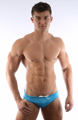 AMU CLASSIC SWIM BRIEF - BLUE