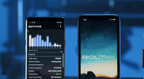 Bolt 4K Meets Mobile - App to Manage Wireless Workflow Tools