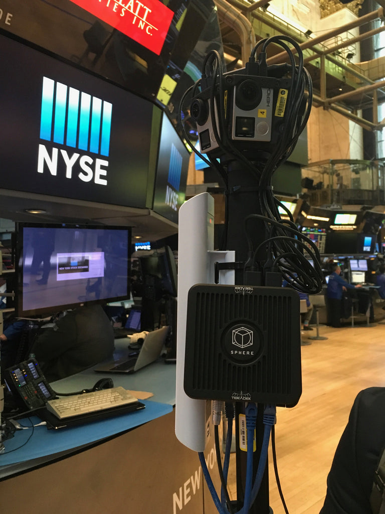 Cheddar Brings 360 to NYSE