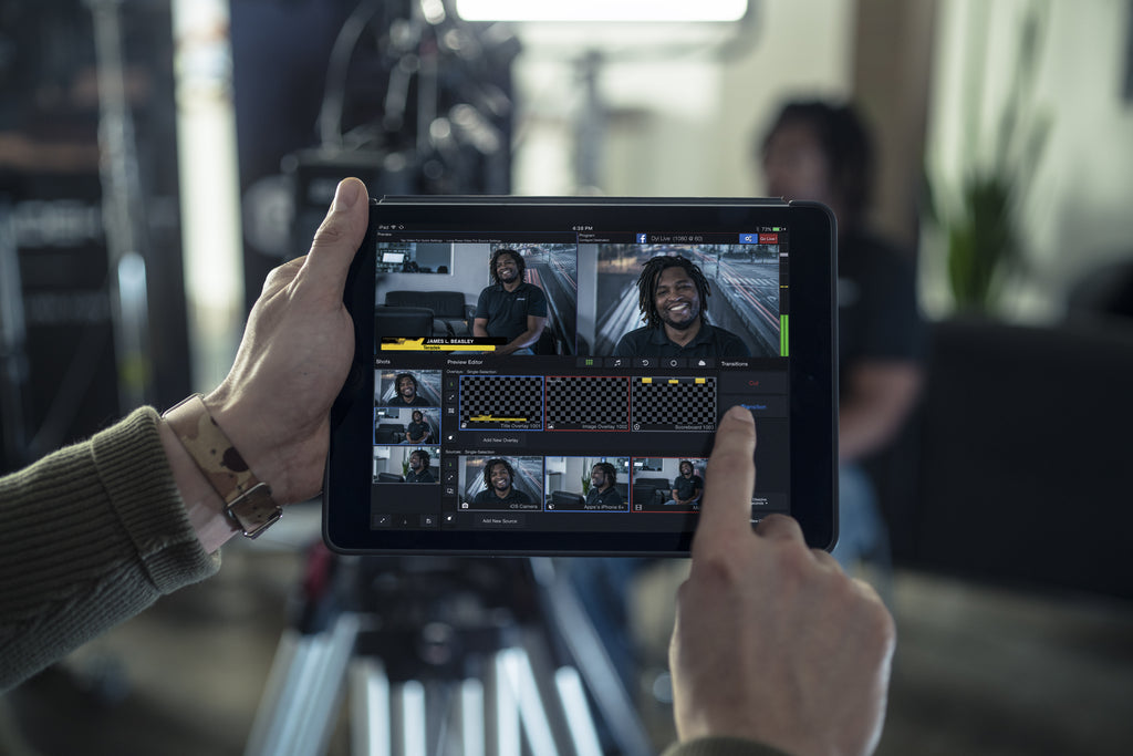 A Simple Guide to Multi-Cam Live Streaming with Live:Air Action