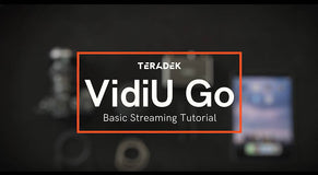 How to Set up Your VidiU Go