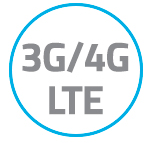3G,4G,LTE Logo streaming on all cellular networks