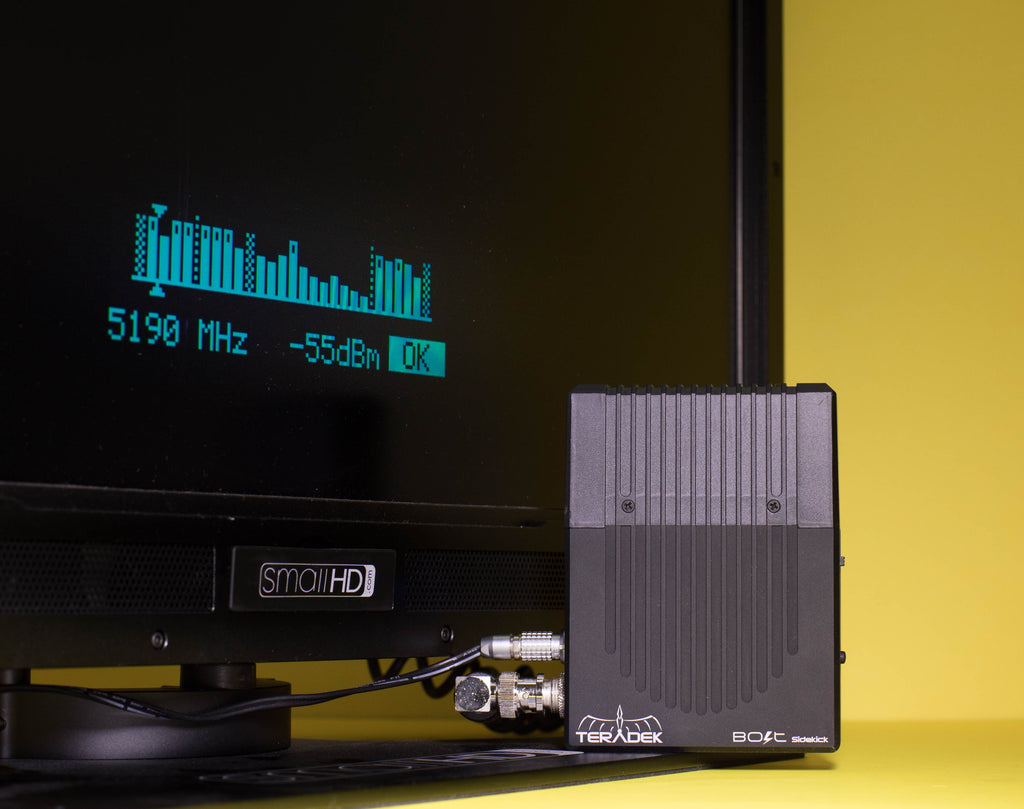 Bolt spectrum analyzer