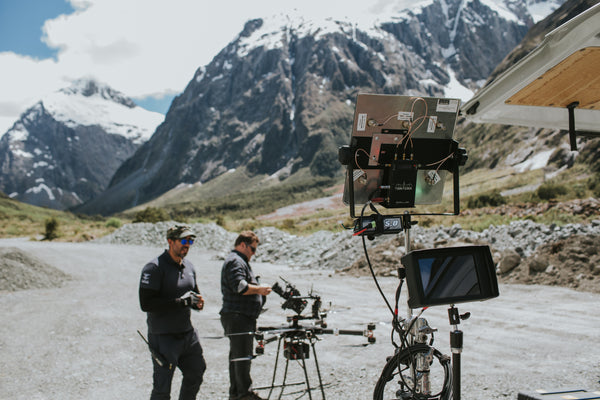 Mountains of New Zealand for Thor Ragnarok