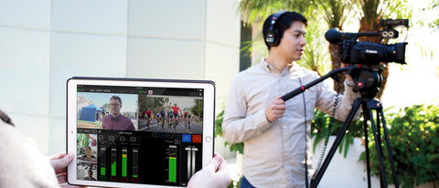 Live:Air iPad Production Suite Compatible with Teradek VidiU Pro